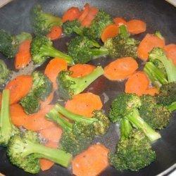 Broccoli With a Garlic and Lemon Dressing recipe