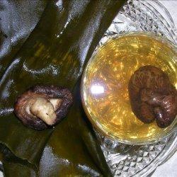 Shiitake Dashi recipe