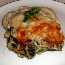 Crab and Spinach Lasagna recipe
