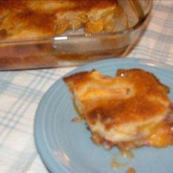 Great Great Grandma's Fresh Peach Cobbler recipe
