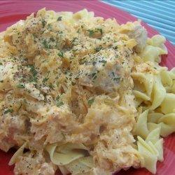Simple Goulash With Sauerkraut recipe