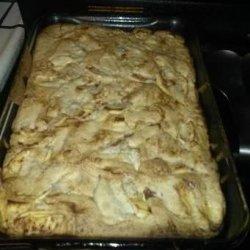 My Mom's Soft Apple Cake recipe