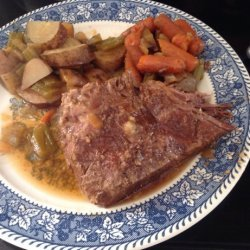Crock Pot Marinated Pot Roast recipe