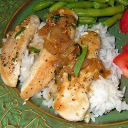 Chicken Breasts in Tarragon Sauce recipe