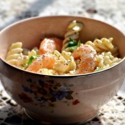 Pasta Salad With Baby Shrimp recipe