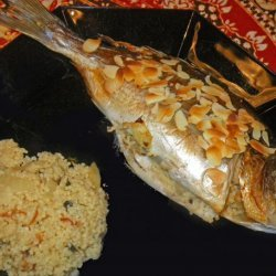 Trout Stuffed With Couscous, Almonds and Herbs recipe