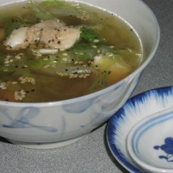 Chinese Fish and Lettuce Soup recipe