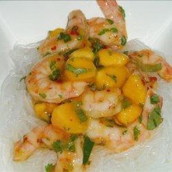 Shrimp and Mango Salad With Glass Noodles recipe