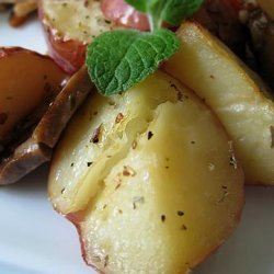 Greek Lemon-Roasted Potatoes recipe