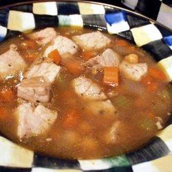 Garbanzo and Green Chile Stew recipe