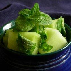 Fresh Mint Melon Ball Salad recipe