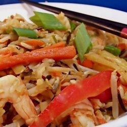 Sweet and Sour Shrimp Fried Rice recipe