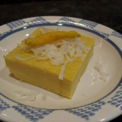 Coconut Custard Squares recipe