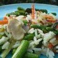 Vegetable Rice Simple Side Dish recipe