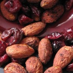 Sweet and Salty Nuts and Cranberries recipe