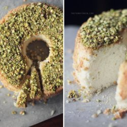 Lime Angel Food Cake recipe