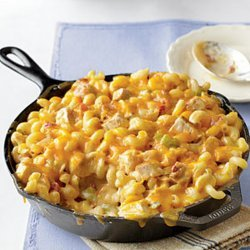 King Ranch Chicken Mac and Cheese recipe