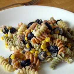 Moroccan Pasta Salad With Tuna recipe