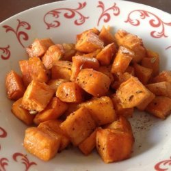 Roasted and Spiced Sweet Potatoes recipe