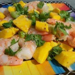 Shrimp Salad With Mango recipe