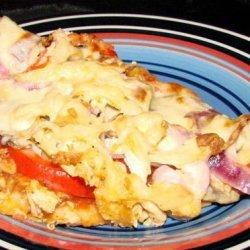 Chicken Salsa Pizza recipe