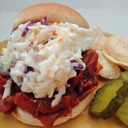 Pittsburgh Style Ham BBQ Sandwiches recipe