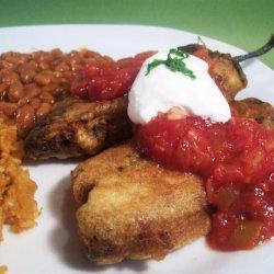 Classic Chili Poblano Rellenos recipe