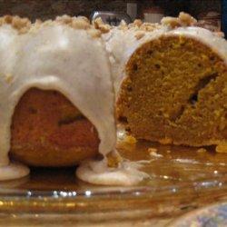 Pumpkin Pound Cake With Cinnamon Glaze recipe