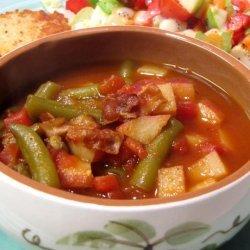 Turkey Bacon Vegetable Soup recipe