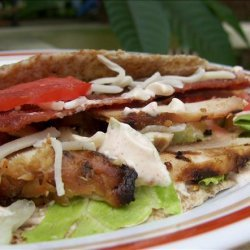 Chicken BLT Wrap (With or Without the  t! ) recipe