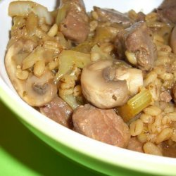 Beef and Vegetable Barley Soup recipe