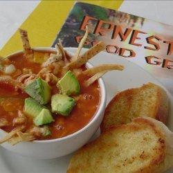 Dionicia's Famous Chicken Tortilla Soup recipe