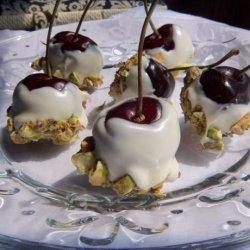 Chocolate Pistachio Cherries recipe