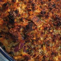 Eggplant (Aubergine) and Tomato Crisp recipe