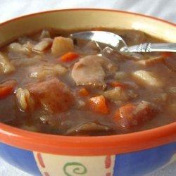 Crock Pot Beef and Mushroom Stew recipe
