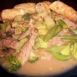 Chop Chop Beef Stir Fry recipe