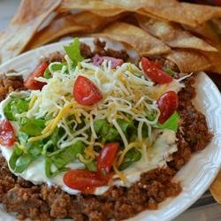 Beef and Salsa Dip recipe