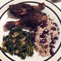 Jerk Grilled Chicken Wings recipe