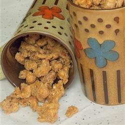 Cinnamon Roasted Almonds recipe