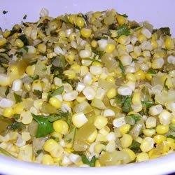 Corn and Tomatillo Salsa recipe