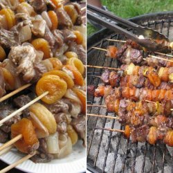 South African Lamb Sosaties(Kebabs) recipe
