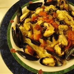 Mussels Provencal recipe