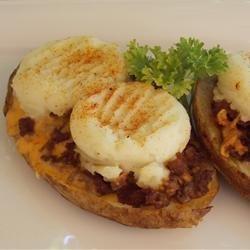 Chili Cheese Potato Skins recipe