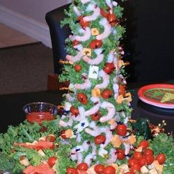 Mary's Christmas Shrimp Tree recipe