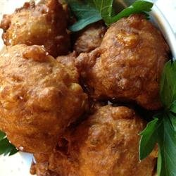 Curried Corn Fritters recipe