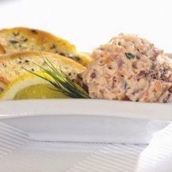 Crab and Salmon Dip recipe