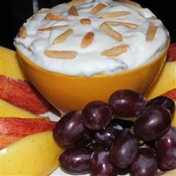 Almond Sour Cream Dip recipe