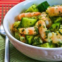Lemon Mint Sauce with Shrimp recipe