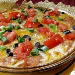 Mexican Bean Dip recipe
