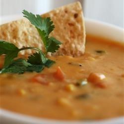 Green Chili and Corn Dip recipe